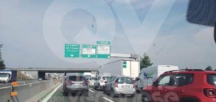 DELIRIO IN TANGENZIALE - Un cantiere provoca code da Orbassano a Rivoli