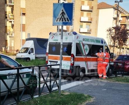 VENARIA - Investito da unauto mentre attraversa la strada: ricoverato in ospedale