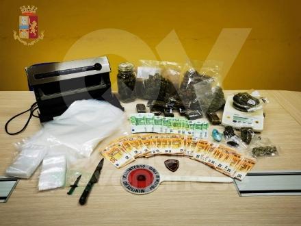 RIVOLI-COLLEGNO - Droga nascosta in auto e in casa: 25enne arrestato due volte in sei mesi