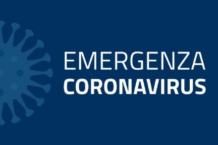 CORONAVIRUS - Bollettino regionale: 104 decessi, 1.021 guariti e 943 in via di guarigione