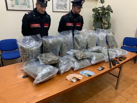MAPPANO - 16 kg di droga fra auto e casa: 28enne mappanese arrestato