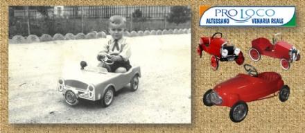 VENARIA - Antonio Iorio e le sue auto a pedali: in mostra nella sala espositiva di via Mensa