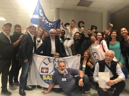 RIVOLI - Le prime parole di Tragaioli da sindaco: «Un risultato che passerà alla storia» - FOTO