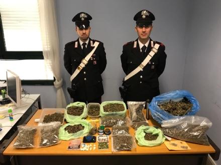 MATHI-GROSSO - I carabinieri arrestano i fratelli spacciatori: in casa 3 kg di droga