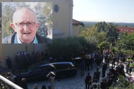 GIVOLETTO - Un rombo di motori per lultimo saluto ad Andrea Mandrini