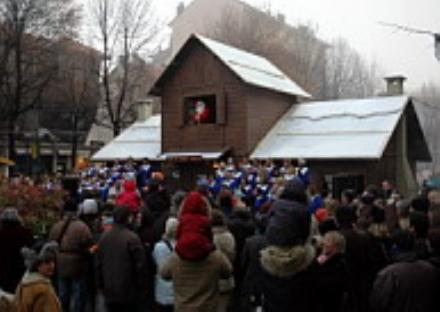 RIVOLI - Dal 24 novembre torna in città il Villaggio di Babbo Natale
