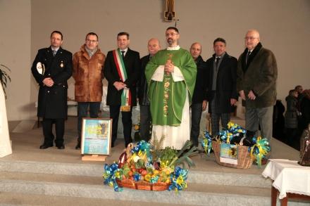 BORGARO - Ultimi preparativi per la Festa di SantAntonio Abate