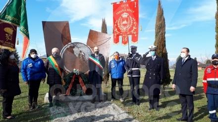 VENARIA - La città ha celebrato il «Giorno del Ricordo» - FOTO