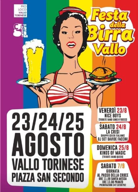 VALLO - Tre giorni di grande divertimento con la Festa della Birra