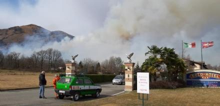 VAL DELLA TORRE - Incendio boschivo in Borgata Buffa: il piromane è tornato in azione?