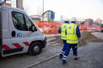 COLLEGNO - Al via i lavori di ammodernamento della rete cittadina del metano