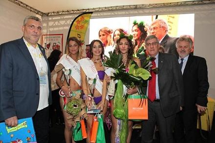 PIANEZZA - La pianezzese Arianna de Palo a Bologna per «Miss Comuni Fioriti 2018»