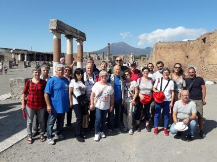 VENARIA - I marinai della sezione Cagnassone a Salerno nel ricordo di Claudio Genta