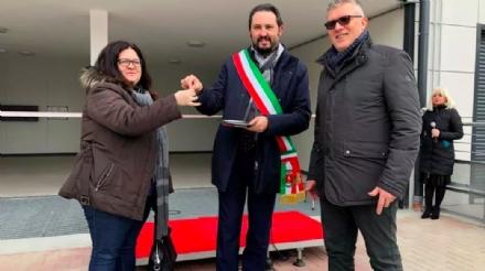 GRUGLIASCO - Taglio del nastro per i 32 nuovi alloggi Atc nelle vie Palli, Girardi e Baracca