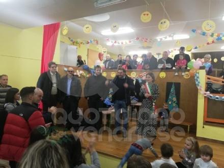 GIVOLETTO - Inaugurato il nuovo dormitorio nella scuola dellInfanzia - FOTO