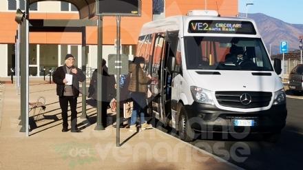 VENARIA - Partita lera del «VE2», lautobus da e per il polo sanitario: orari e percorso