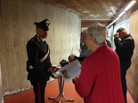 RIVOLI - Contro furti e truffe i carabinieri incontrano i cittadini - FOTO