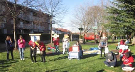 DRUENTO - Giochi e laboratori in piazza del Filatoio con la «CombricCoccola»