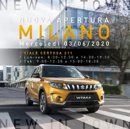 MILANO - Suzuki Autogrup S ha inaugurato la nuova sede