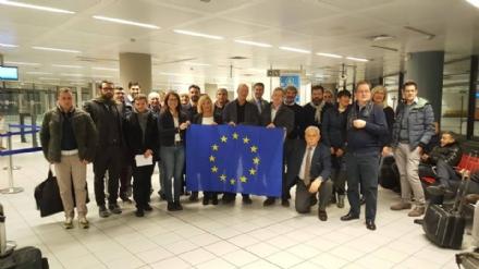 VENARIA-VAL CERONDA-ZONA OVEST - Gli amministratori locali in visita alla Commissione Europea