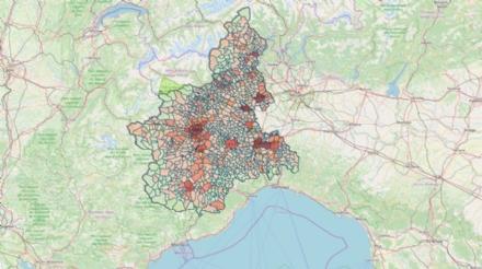 CORONAVIRUS - 60 positivi ad Alpignano, Collegno 143, Rivoli 149, Venaria 99, Druento 22