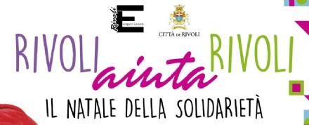 RIVOLI - «Rivoli aiuta Rivoli»: il Natale della solidarietà dei commercianti di Rivoli Experience