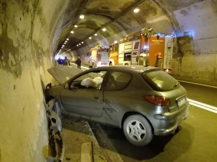 SICUREZZA LUNGO LA SP1 - Città Metropolitana: «Nessun pericolo nella galleria Monte Basso»