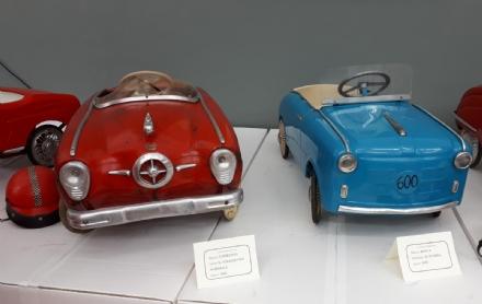 VENARIA - Le auto a pedali di Antonio Iorio: un meraviglioso tuffo nel passato - LE FOTO