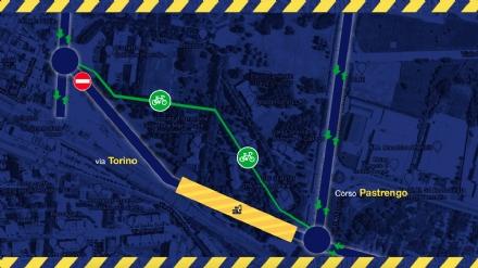 COLLEGNO - Lavori per la Metro: chiuso per nove mesi il primo tratto di via Torino