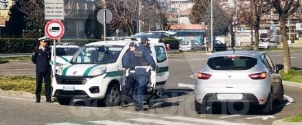 SAN GILLIO-BORGARO - Primi controlli delle municipali per il rispetto del Decreto #Iorestoacasa