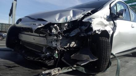 COLLEGNO - Incidente stradale in tangenziale: due donne ferite - FOTO