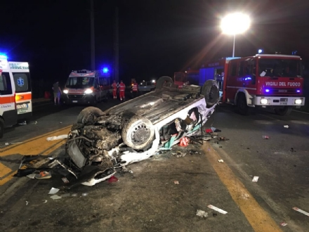 VENARIA-DRUENTO - Incidente stradale: ragazza in prognosi riservata. Autista denunciato dai carabinieri
