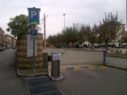 VENARIA - Il parcheggio Pettiti riaprirà al pubblico venerdì pomeriggio