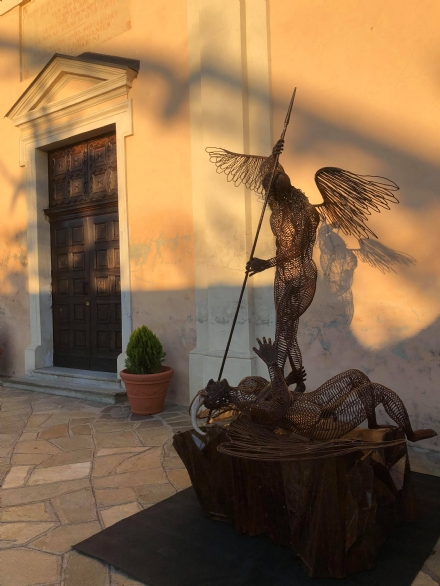 DRUENTO - Una nuova opera darte dedicata a San Michele Arcangelo