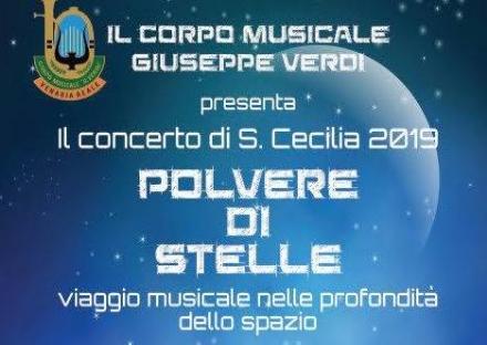 VENARIA - Il Corpo musicale Giuseppe Verdi nel week-end festeggia Santa Cecilia
