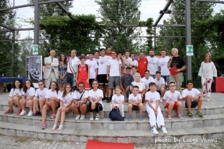 VENARIA - In piazza Atzei le premiazioni degli sportivi della Reale