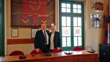 VENARIA - Festa per Graziella Peloso, per 35 anni al servizio del Municipio e della Città
