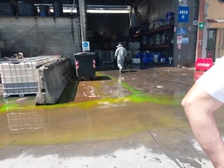 ROBASSOMERO - Esplosione alla A2A: chiusa la zona industriale, in arrivo lArpa FOTO E VIDEO