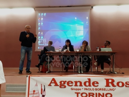 VENARIA - Salvatore Borsellino agli studenti dello Juvarra: «Dovete riprendere in mano i vostri sogni»