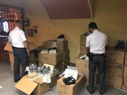 ALPIGNANO - 400 scarpe e 1.600 accessori «Hogan» palesemente falsi: denunciato un uomo