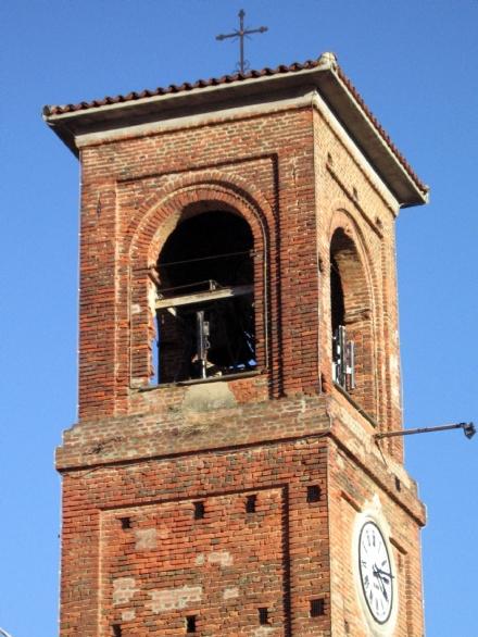 GIVOLETTO - Giovedì sera la Torre del campanile si colorerà di rosa e azzurro