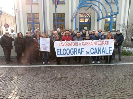 BORGARO - Crisi Elcograf: lazienda fa saltare lincontro in Regione. La rabbia dei lavoratori