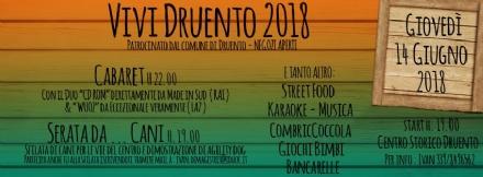 DRUENTO - Questa sera parte «Vivi Druento»: street food, cabaret e sfilata di cani