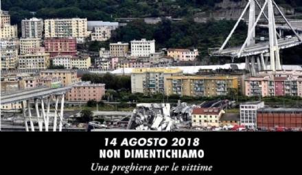 """RIVOLI - Tragedia del Ponte Morandi, Adduce: """"Non bisogna dimenticare"""""""