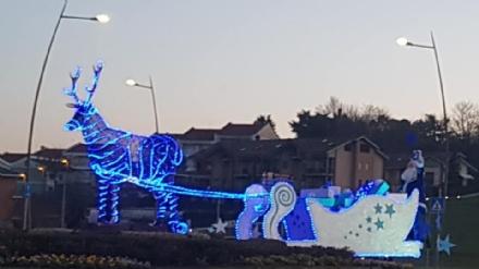 DRUENTO - Il Natale in paese: tra spettacoli di bolle di sapone, illuminazioni e letterine...