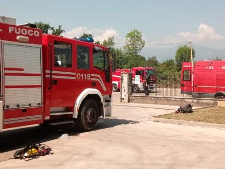 ROBASSOMERO - Nuova esplosione alla A2A: vigili del fuoco in azione a distanza di un solo giorno