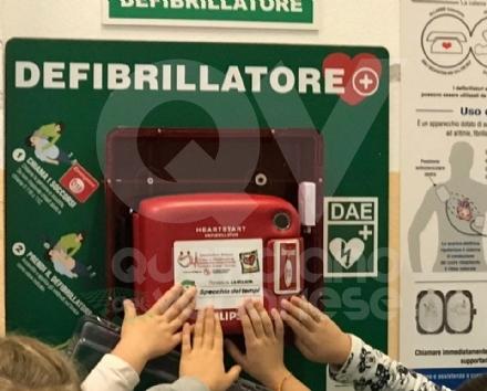 RIVOLI - Anche la scuola primaria Walt Disney è cardioprotetta - FOTO