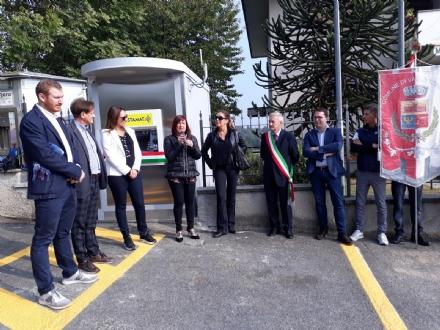 VALLO - Taglio del nastro per il nuovo Postamat in via Fiano