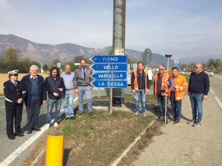 FIANO-ROBASSOMERO - Partiti i lavori per la rotatoria sulla Sp1: la consegna entro tre mesi