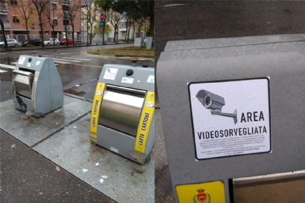 VENARIA - In arrivo le «fototrappole» contro labbandono selvaggio dei rifiuti